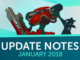 Update Notes: January 2018