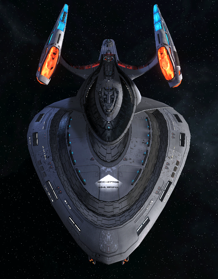 Starfleet Federation Command Ship 16