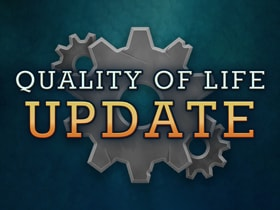 Post Launch Patch 2 - Quality of Life Update Notes