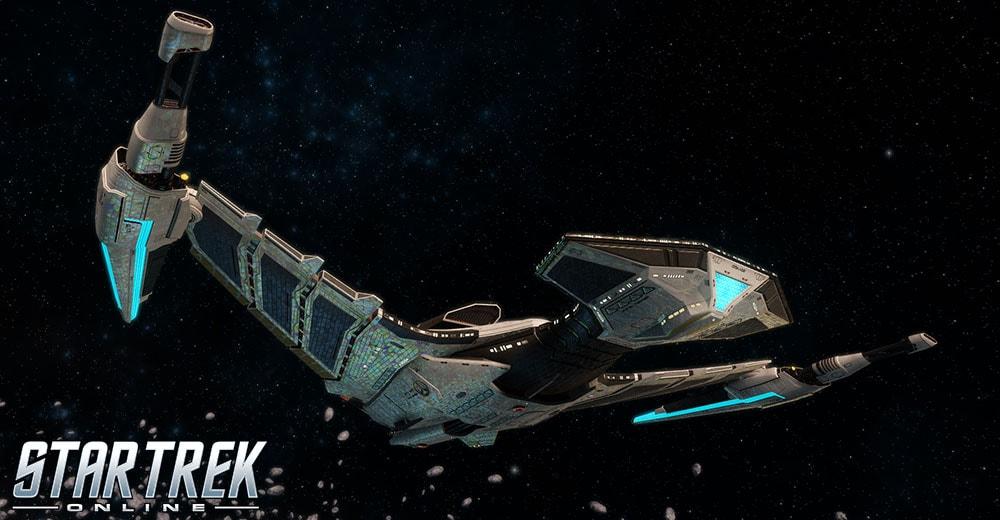 The Temer-Class Alliance Raider vessel from Star Trek Online