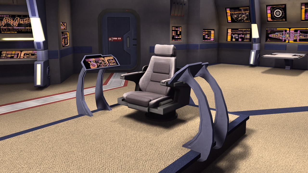 Captains chair star trek - Star Trek Online Season 8 Sto Mmorpg F2p Sci Fi Mmo Game Legacy Of Romulus Greetings Captains